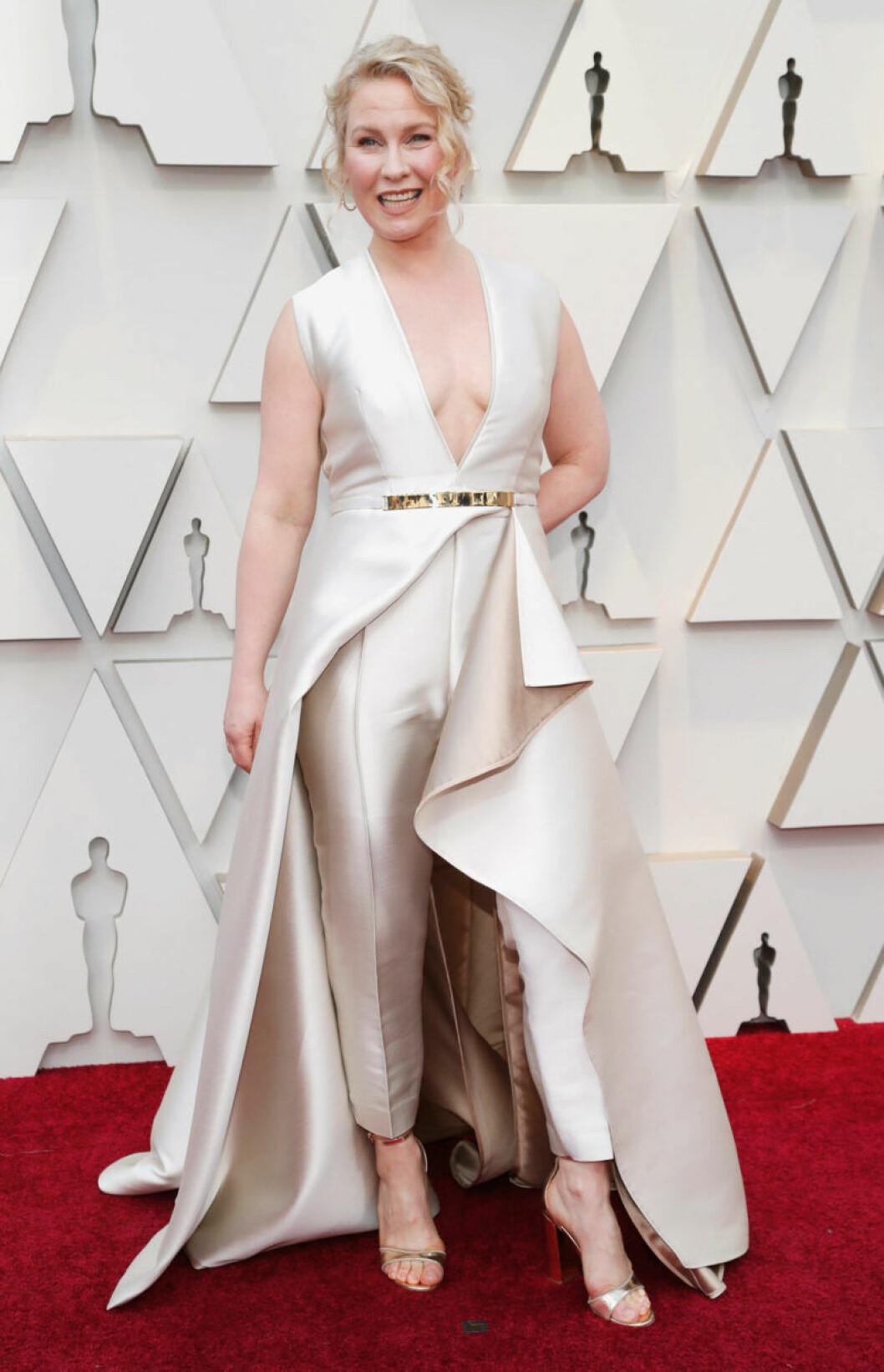 Eva Melander på Oscarsgalan 2019