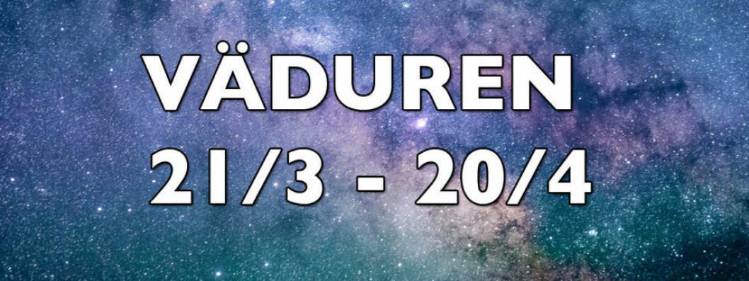 Horoskop för väduren vecka 25 2018