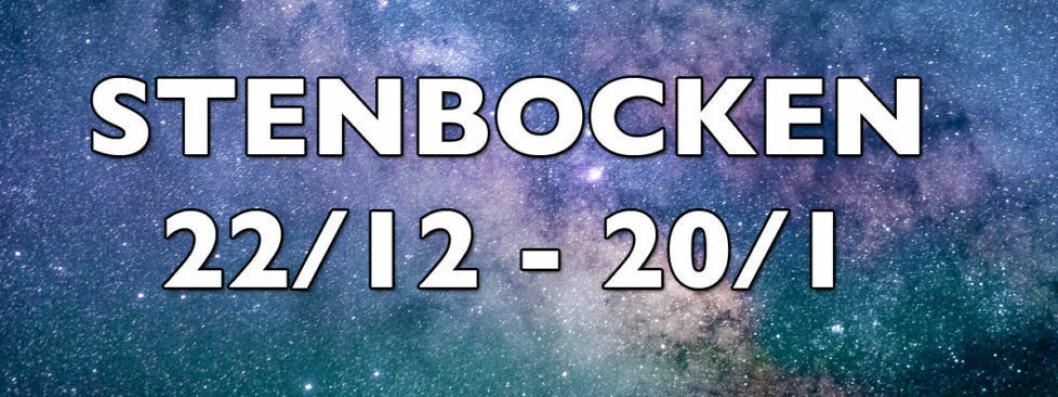 Horoskop för stenbocken vecka 25 2018