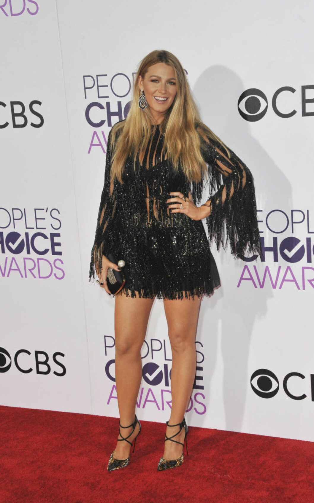 People's Choice Awards 2017 arrivals Featuring: Blake Lively Where: Los Angeles, California, United States When: 19 Jan 2017 Credit: Apega/WENN.com