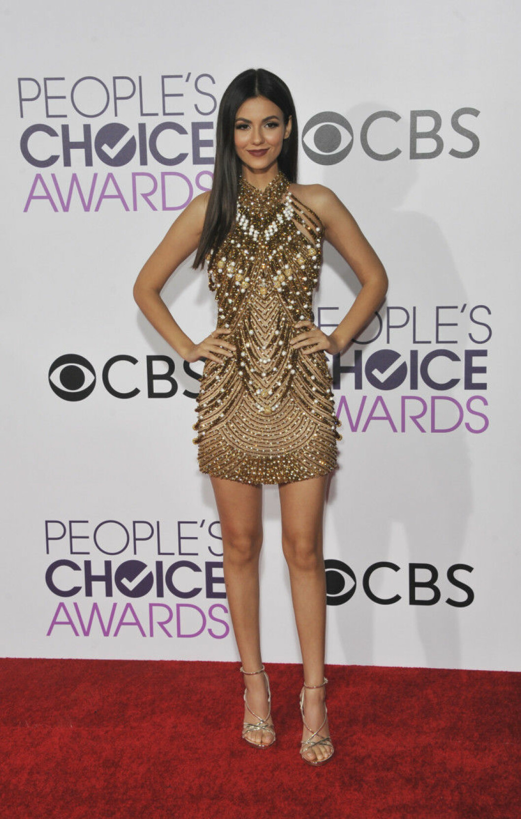 People's Choice Awards 2017 arrivals Featuring: Victoria Justice Where: Los Angeles, California, United States When: 19 Jan 2017 Credit: Apega/WENN.com