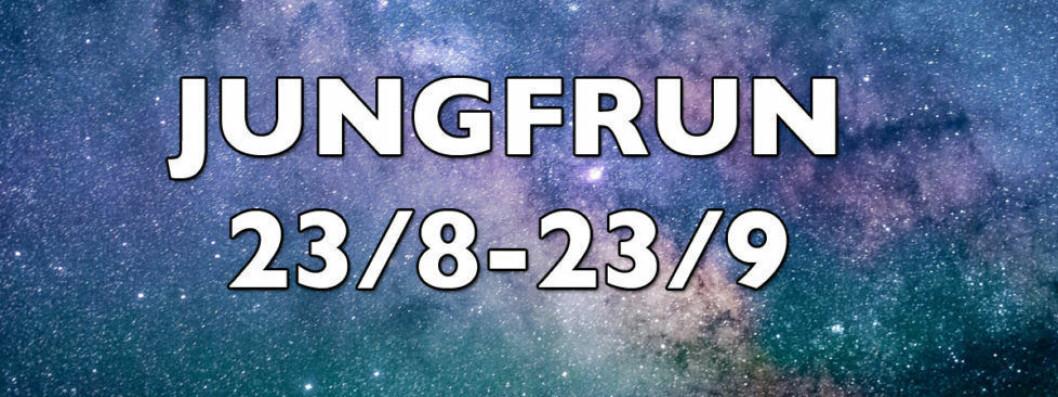 Horoskop vecka 31 2018 för jungfrun.