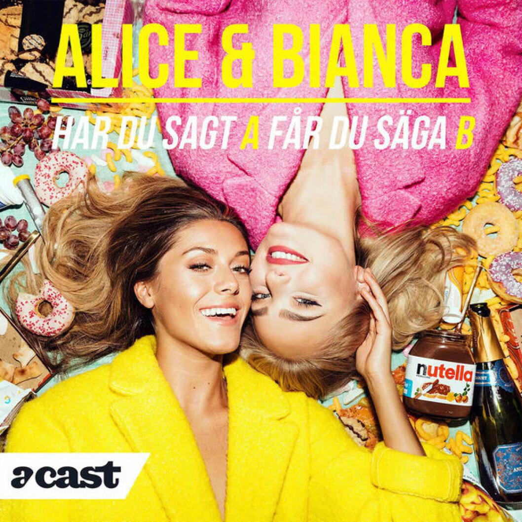 Bianca Ingrosso och Alice Stenlöf pratar om sex, relationer och psykisk ohälsa i sin podd