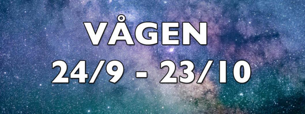 Horoskop vecka 31 2018 för vågen.