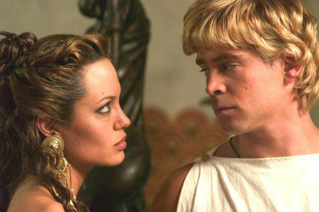 Jolie och Farrell i Alexander