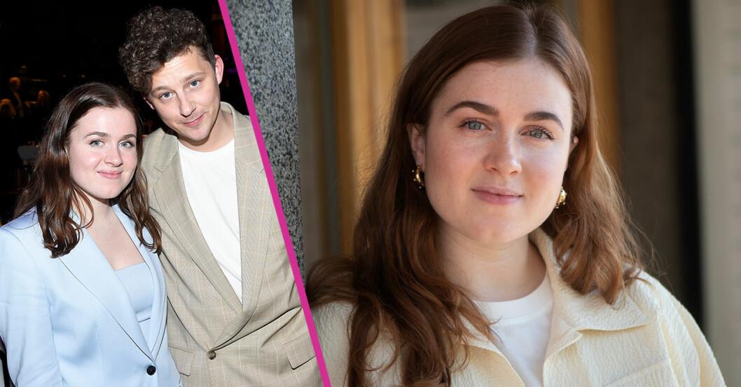 Amy Deasismont om att jobba ihop med pojkvännen Charlie Gustafsson i framtiden
