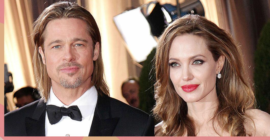 Brad Pitt och Angelina Jolie