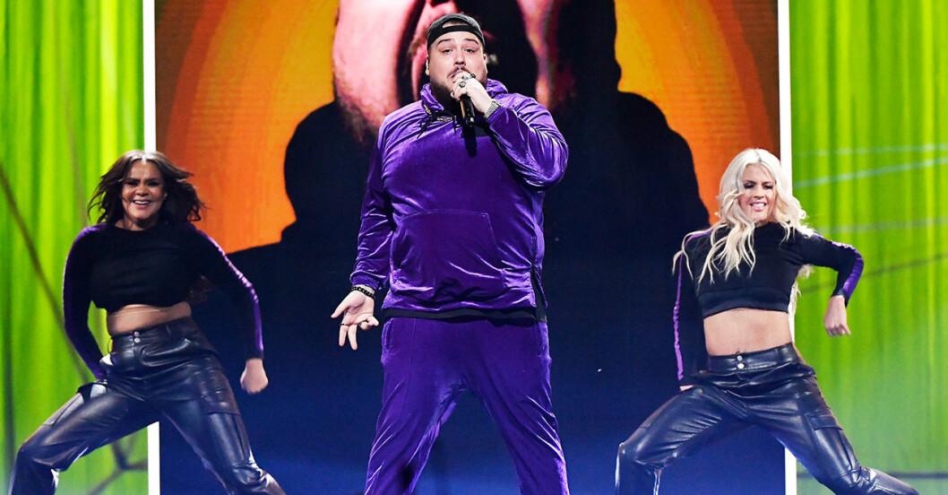 Anis Don Demina är en av finalisterna i Melodifestivalen 2020