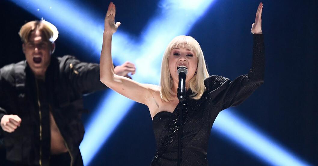 Anna Bergendahl är en av finalisterna i Melodifestivalen 2020
