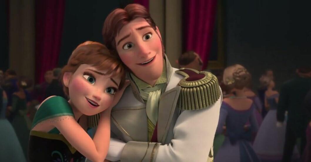 anna och hans från frost