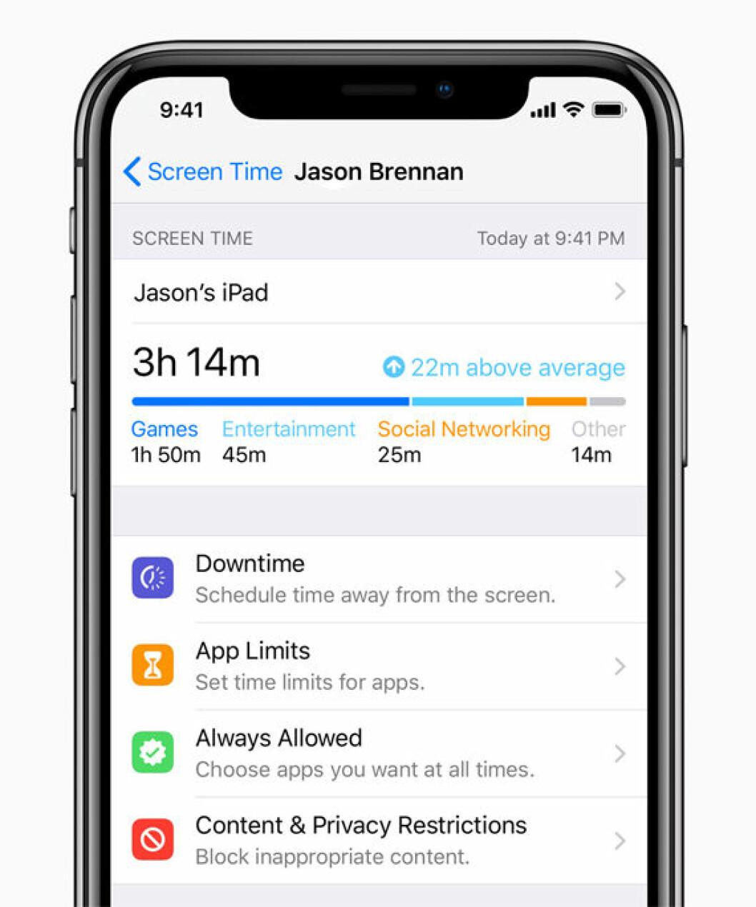 Screen Time är en ny funktion i nya uppdateringen iOS12 för iPhone.