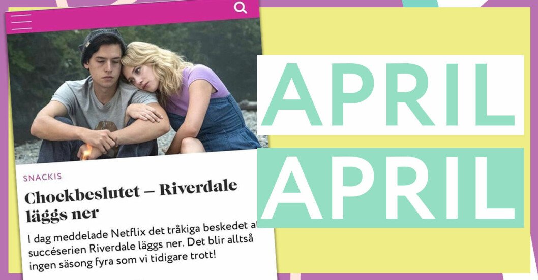 Riverdale läggs ner?
