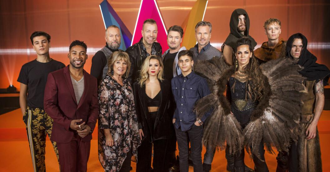 Deltagarna i deltävling 4 i Melodifestivalen 2019