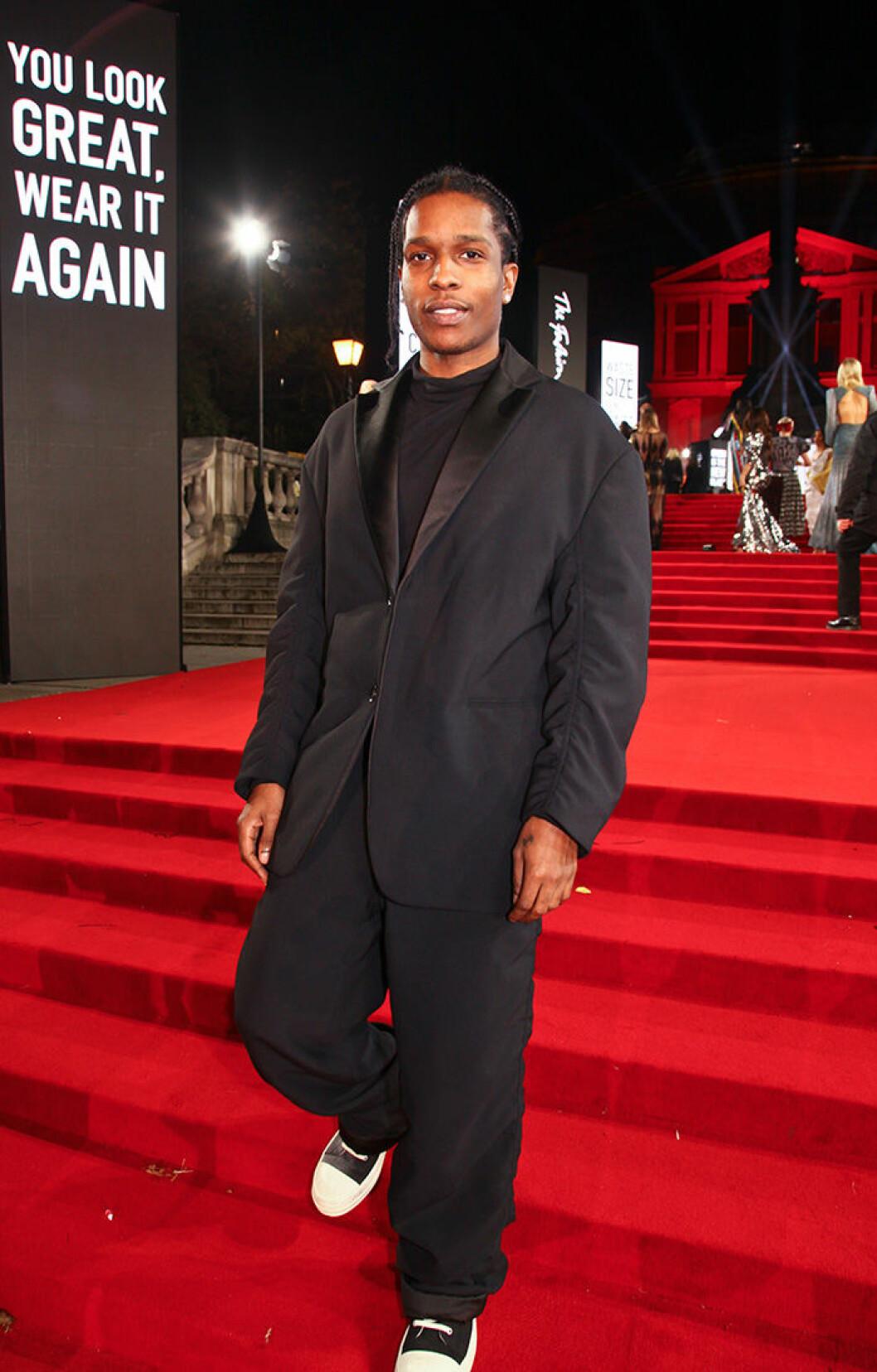 En bild på rapparen ASAP Rocky.