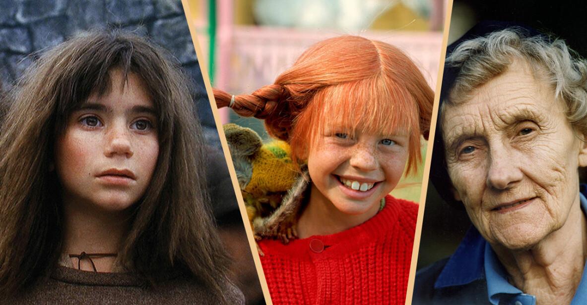 Pippi, Astrid Lindgren och Ronja