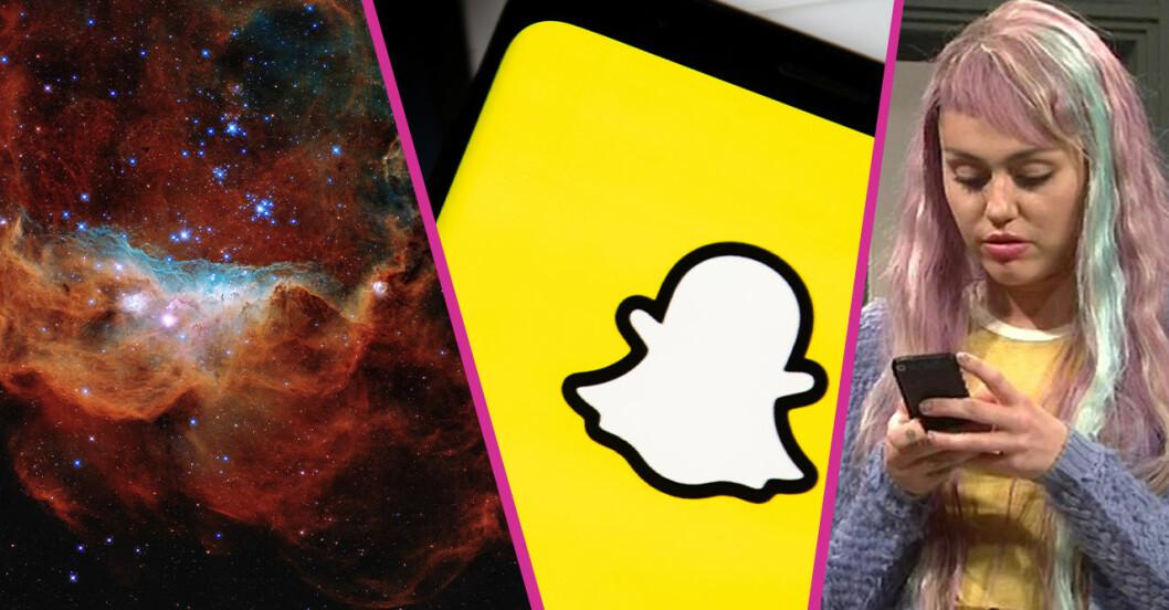 Snapchats nya funktion!