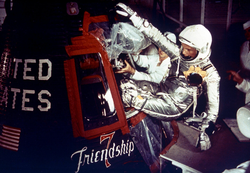 Bild från filmen The Real Right Stuff