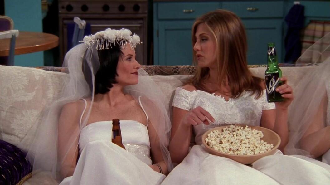 Monica och Rachel i Vänner
