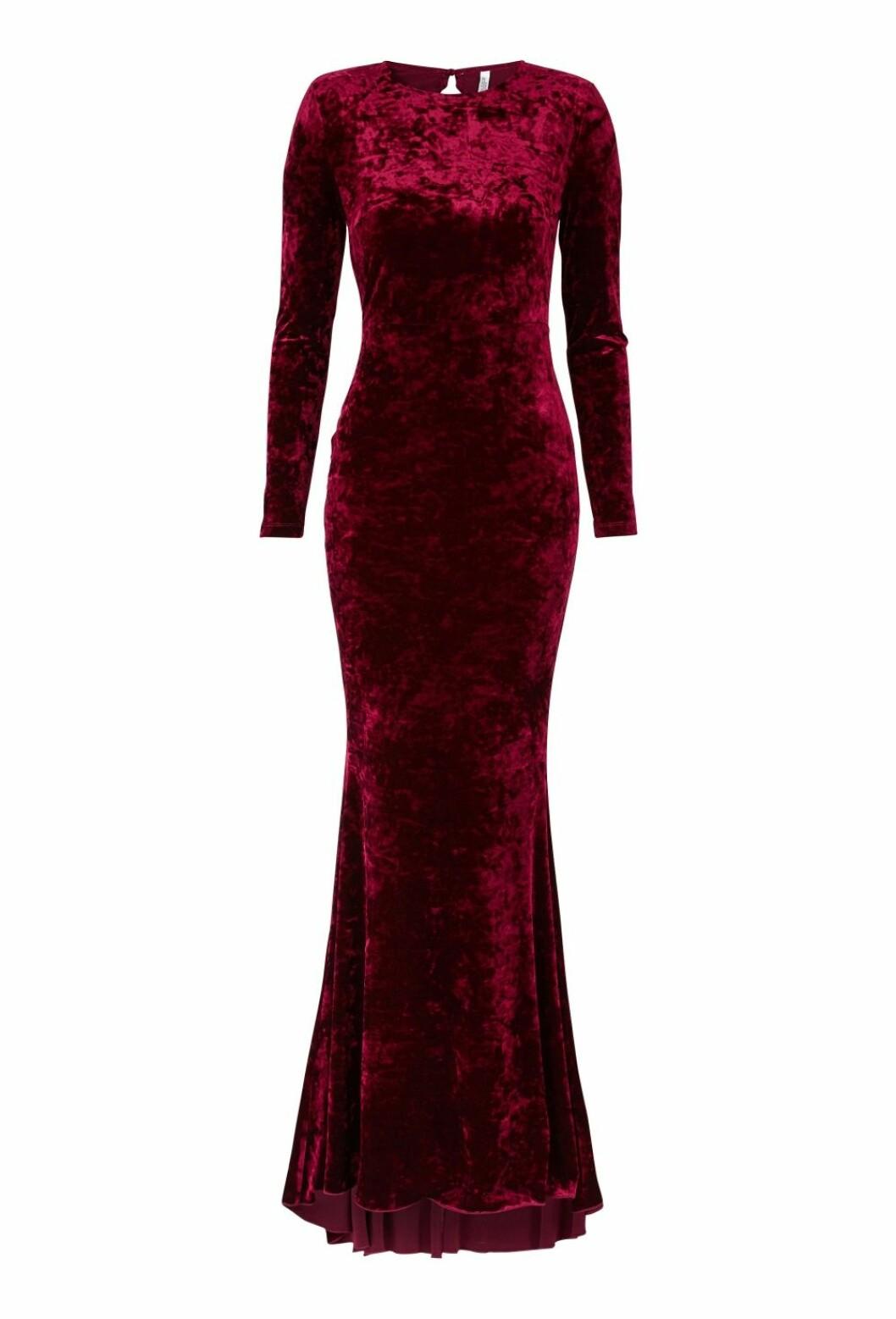 Röd balklänning till 2019