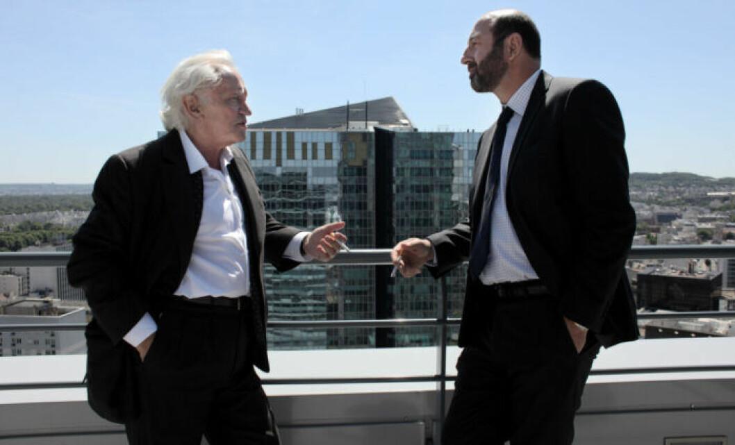 En bild från tv-serien Baron Noir, vars andra säsong har premiär på HBO den 18 december.