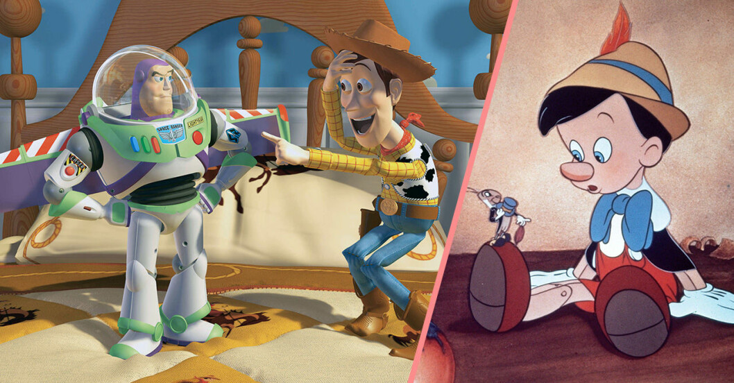 Pinoccio och Toy Story
