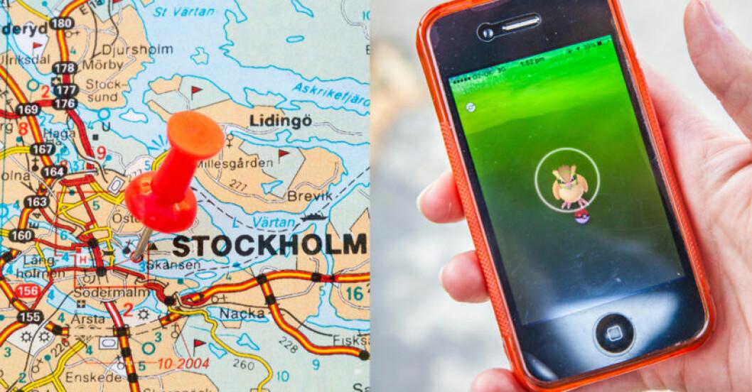 Stockholms bästa platser att jaga Pokémon på.