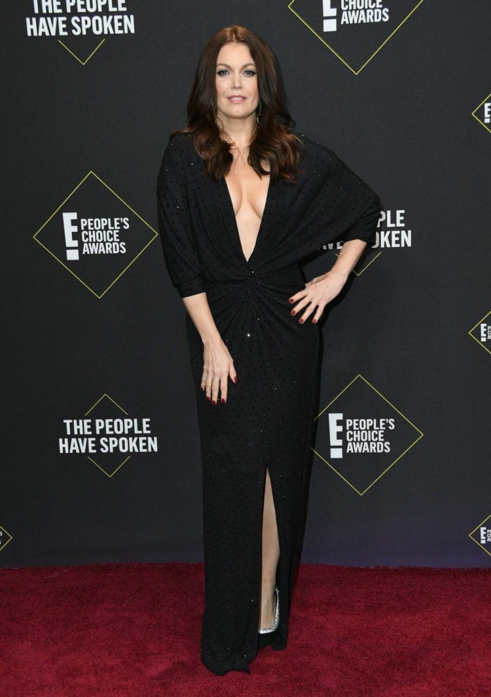 Bellamy Young på röda mattan på People's Choice Awards 2019