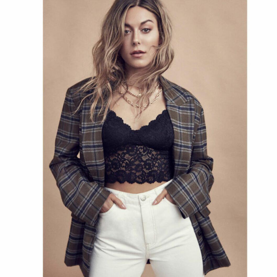 Bianca Ingrosso gina tricot höstkampanj