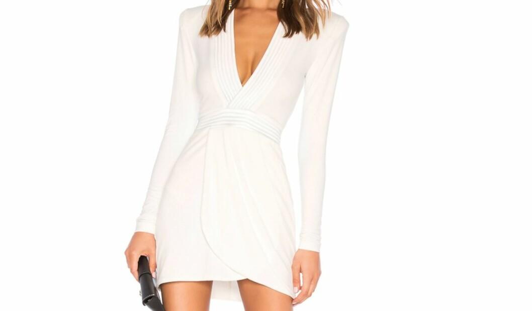 Bianca Ingrosso vit klänning i Talang