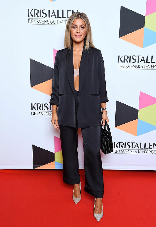 En bild på Bianca Ingrosso under Kristallen-galan 2018.