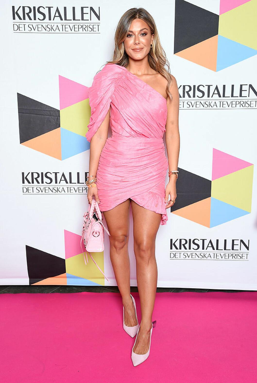 En bild på Bianca Ingrosso under Kristallen-galan 2019.