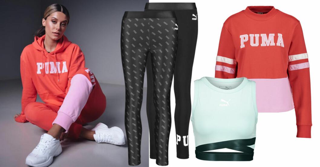 Bianca Ingrosso Puma träningskollektion