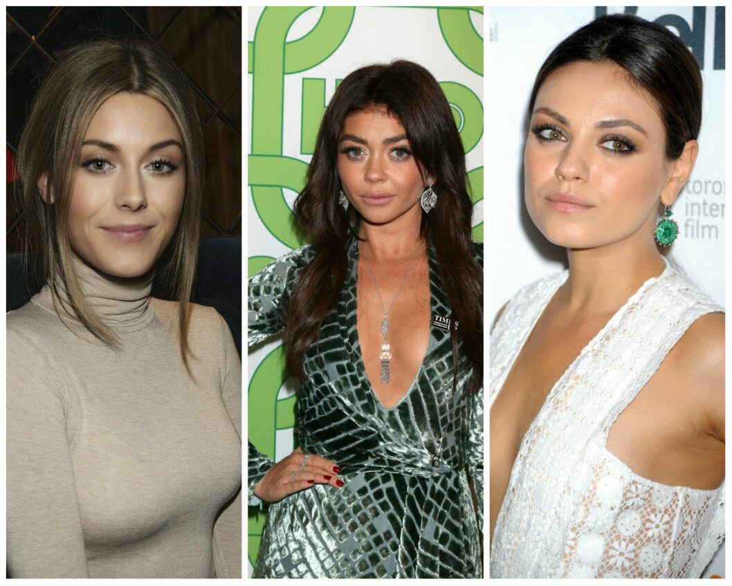 Lika som bär: Bianca Ingrosso, Sarah Hyland, Mila Kunis