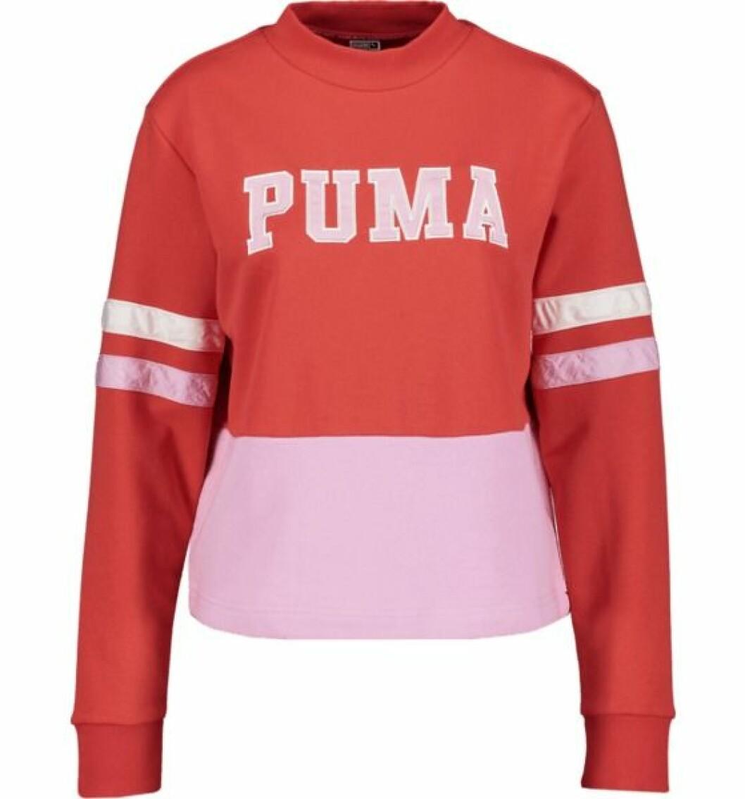 Röd hoodie från Bianca x puma