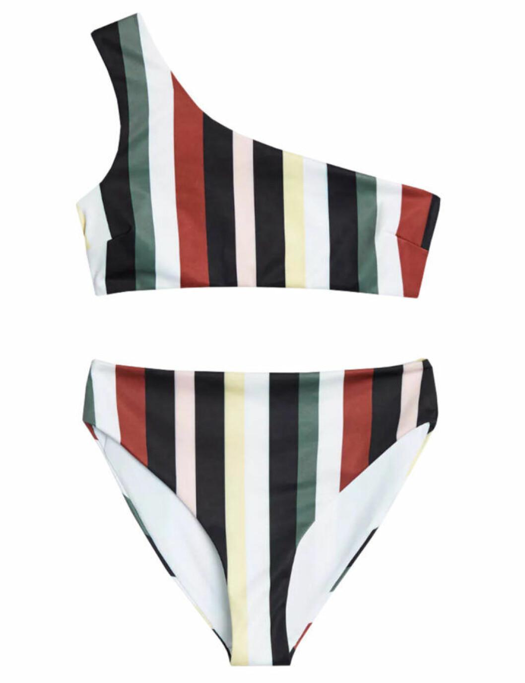 Randig bikini från Gina tricot till 2019