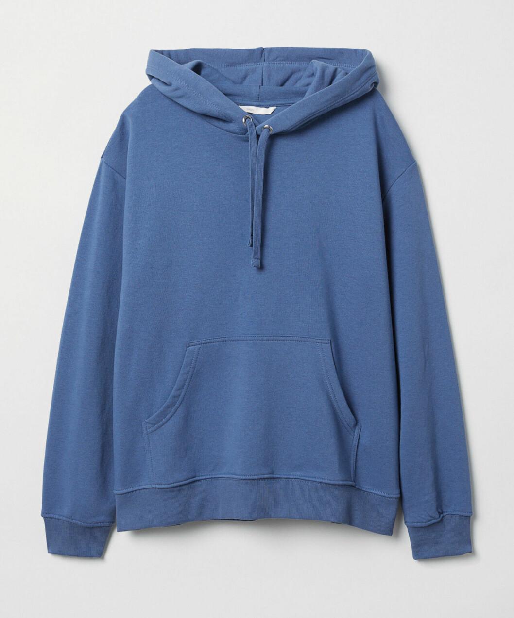 Blå hoodie för dam till 2019