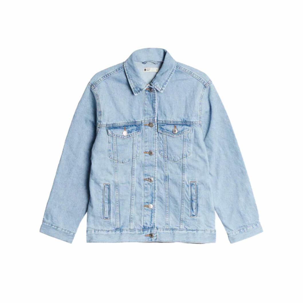 Ljusblå jeansjacka