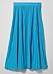 blå plisserad kjol för dam till 2019