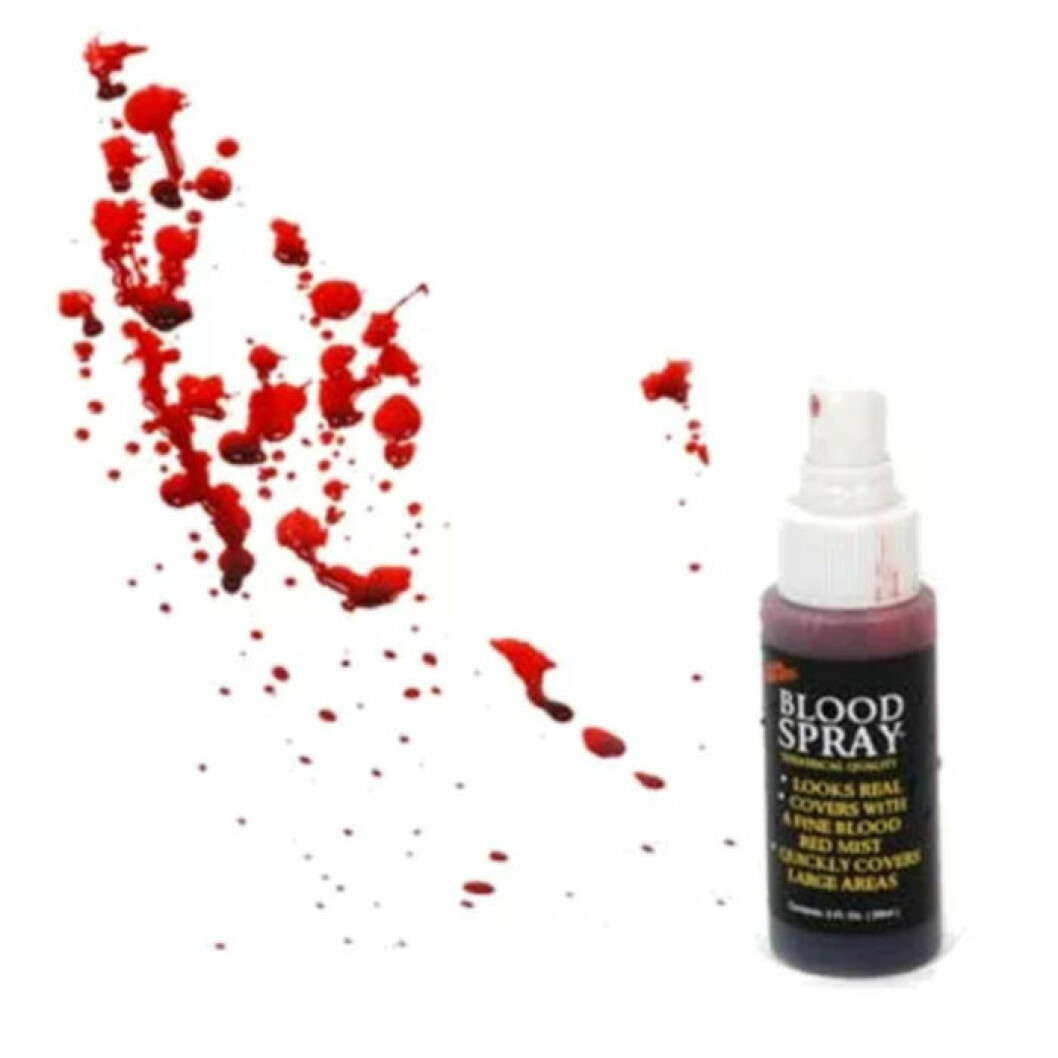 Blodspray fejk