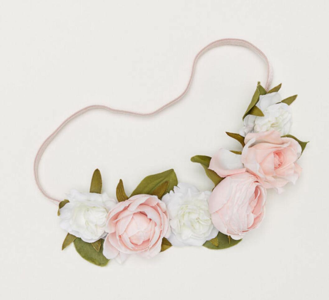 Hårband med blommor till midsommar