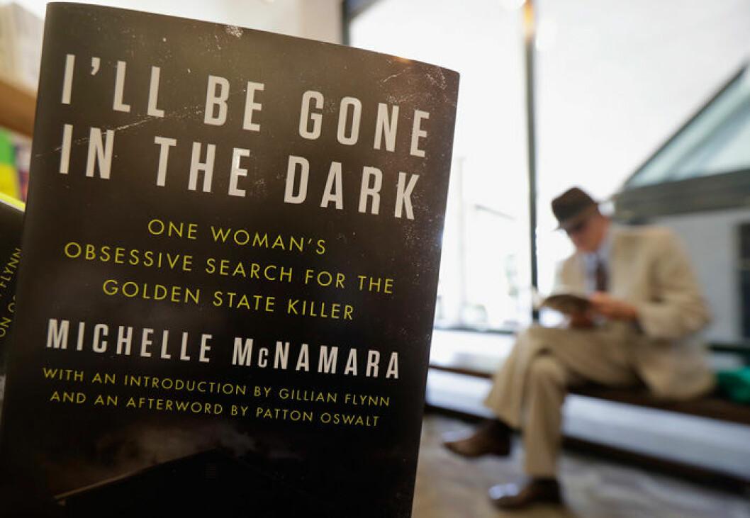 En bild på boken I'll Be Gone in the Dark av Michelle McNamara.