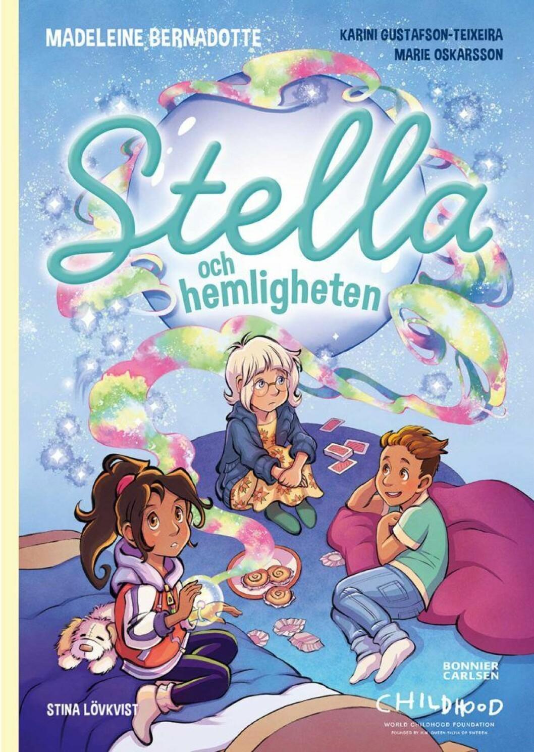 Madeleines barnbok Stella och hemligheten.