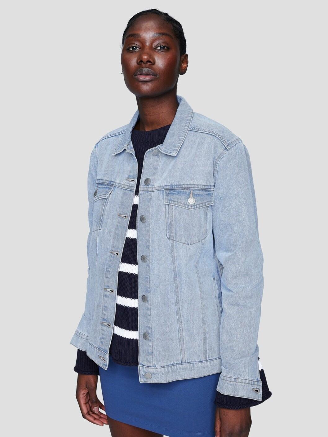 Boyfriend jeansjacka från Cubus