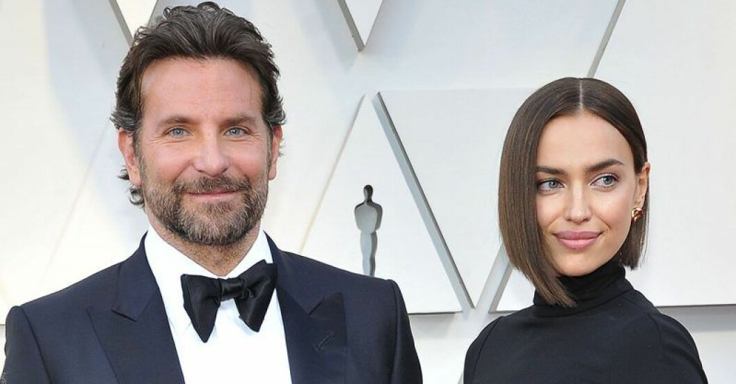 Bradley Cooper och Irina Shayk på Oscarsgalan 2019