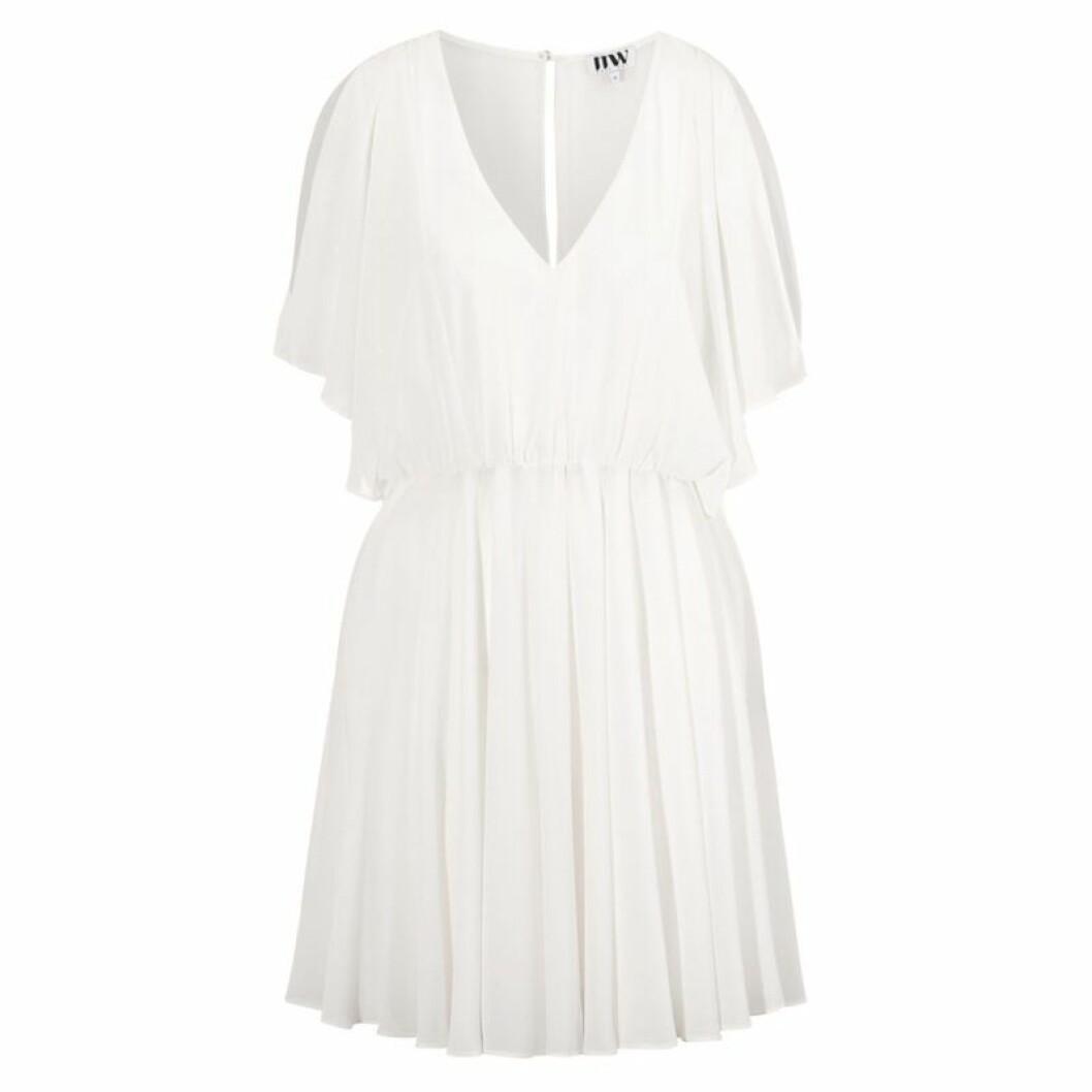 vit studentklänning