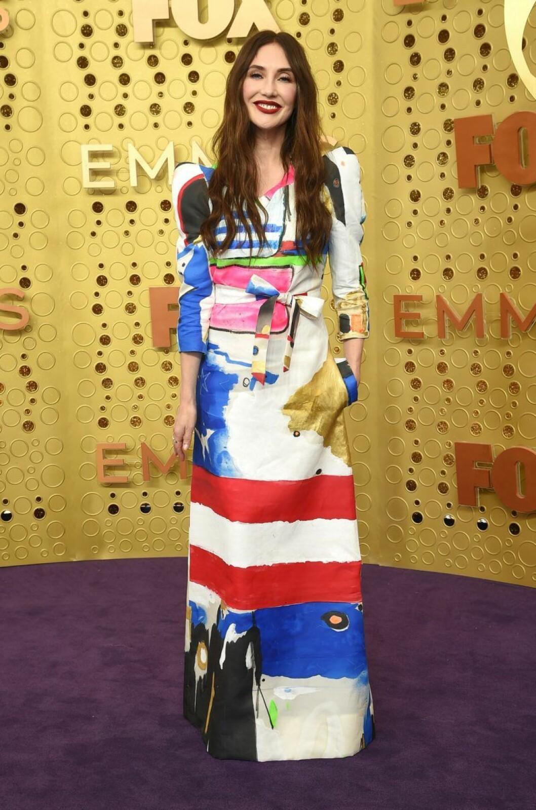 Carice van Houten på röda mattan på Emmy Awards 2019