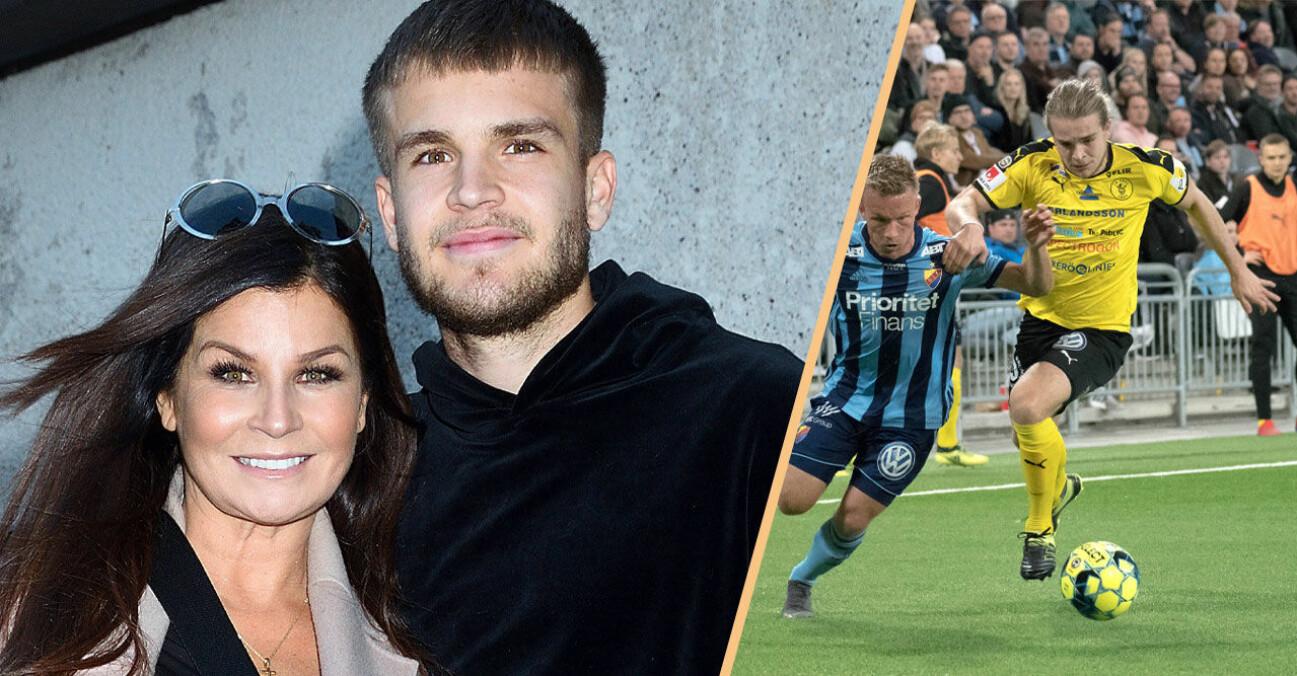 Carola och sonen Amadeus Sögaard