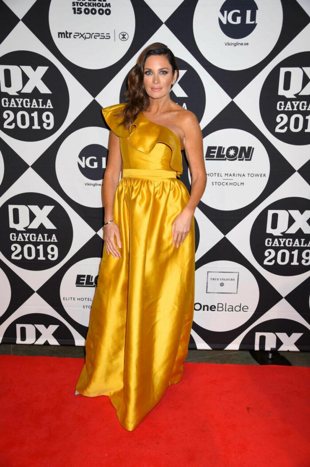 Carolina Gynning på QX-galan