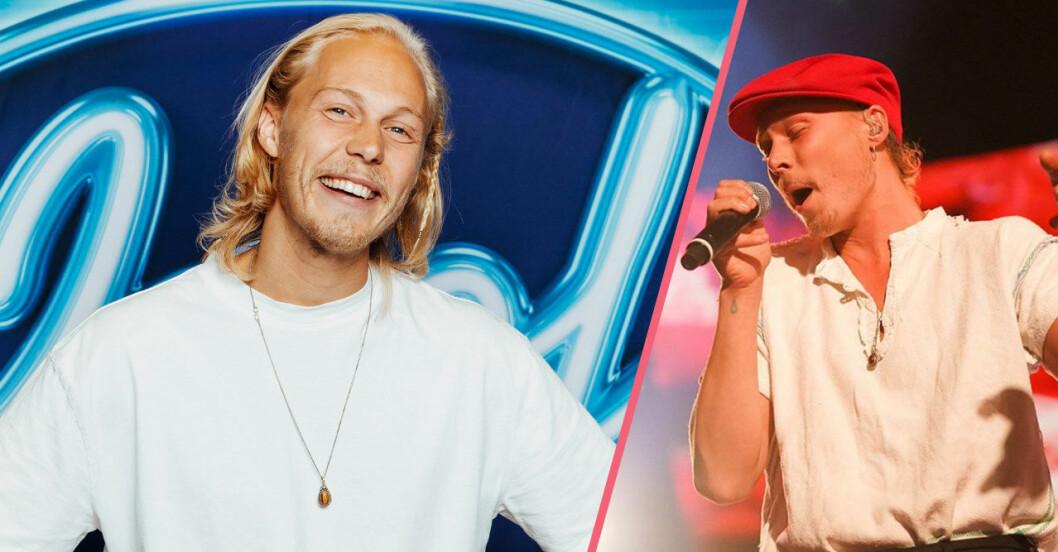 Caspar i Idol sjuk i corona