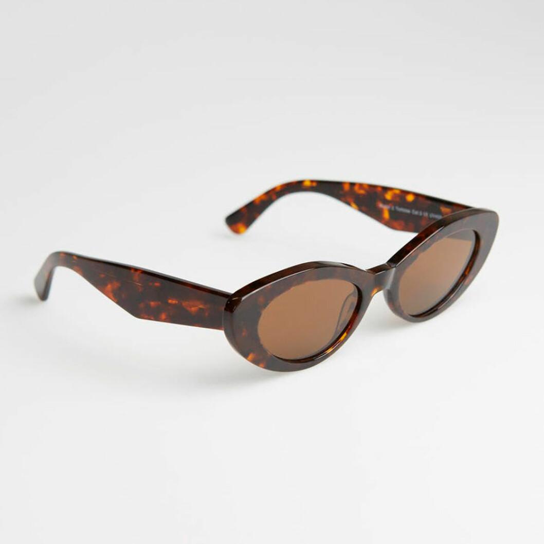 Leopradmönstrade små solglasögon